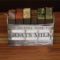 Organic Goats Milk Soap Sampler Old Factory Soap Company