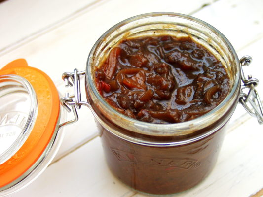 Elderberry Chutney Recipe