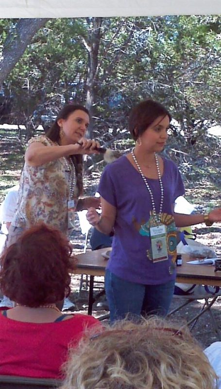 Teaching Sacred Space Class Beth from Sacred Moon Herbs